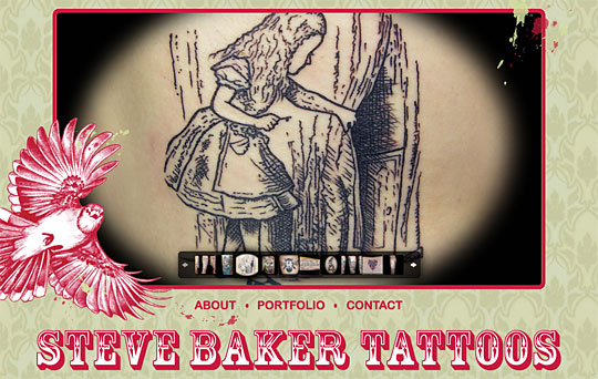 Steve Baker Tattoos